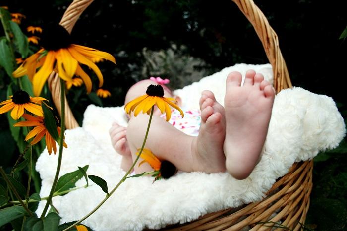 relaxation massage bébé